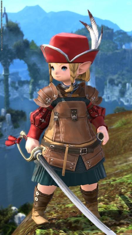 異国の小さな剣士