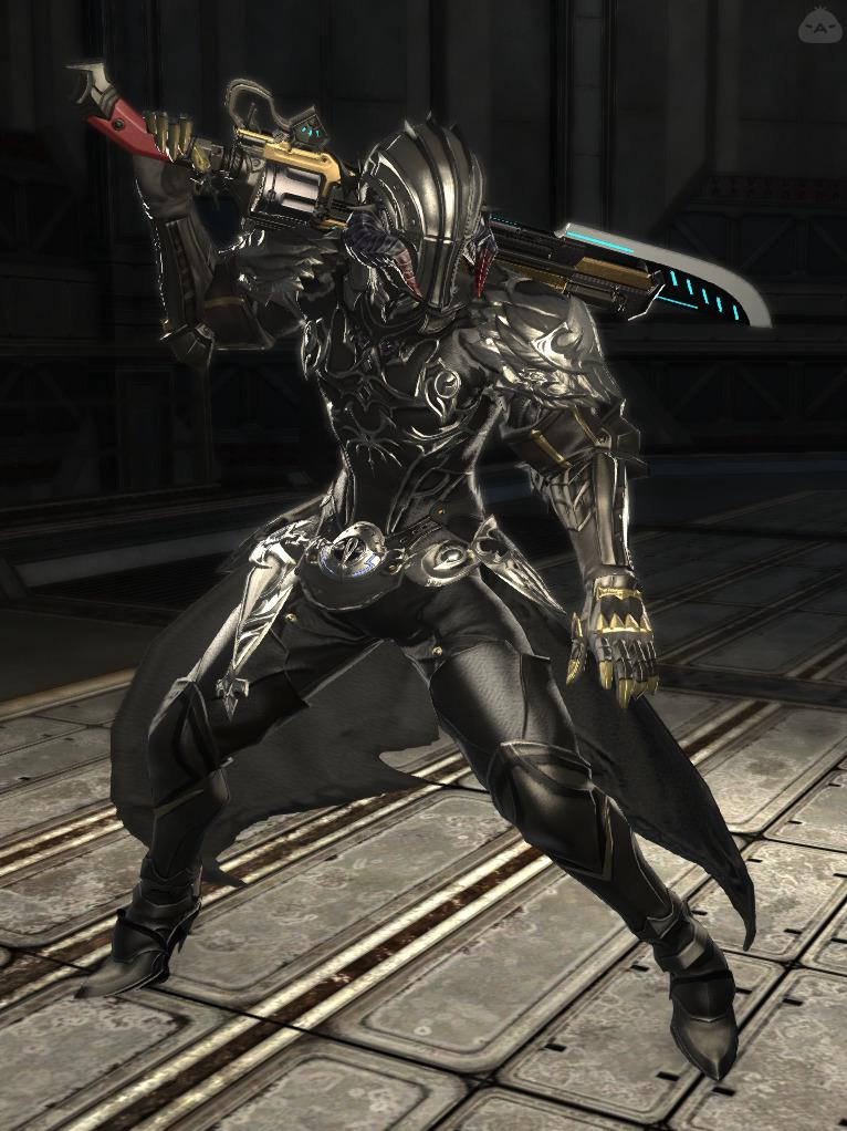 オメガ兵:銃剣士型
