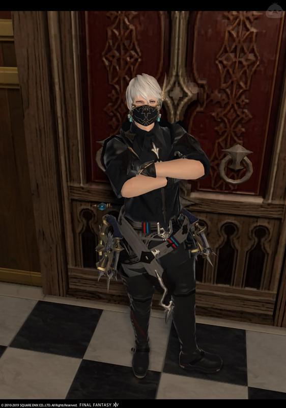 マスクのお兄さん