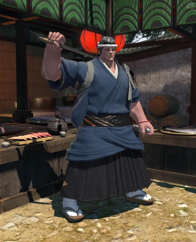 ドマ一番の寿司職人