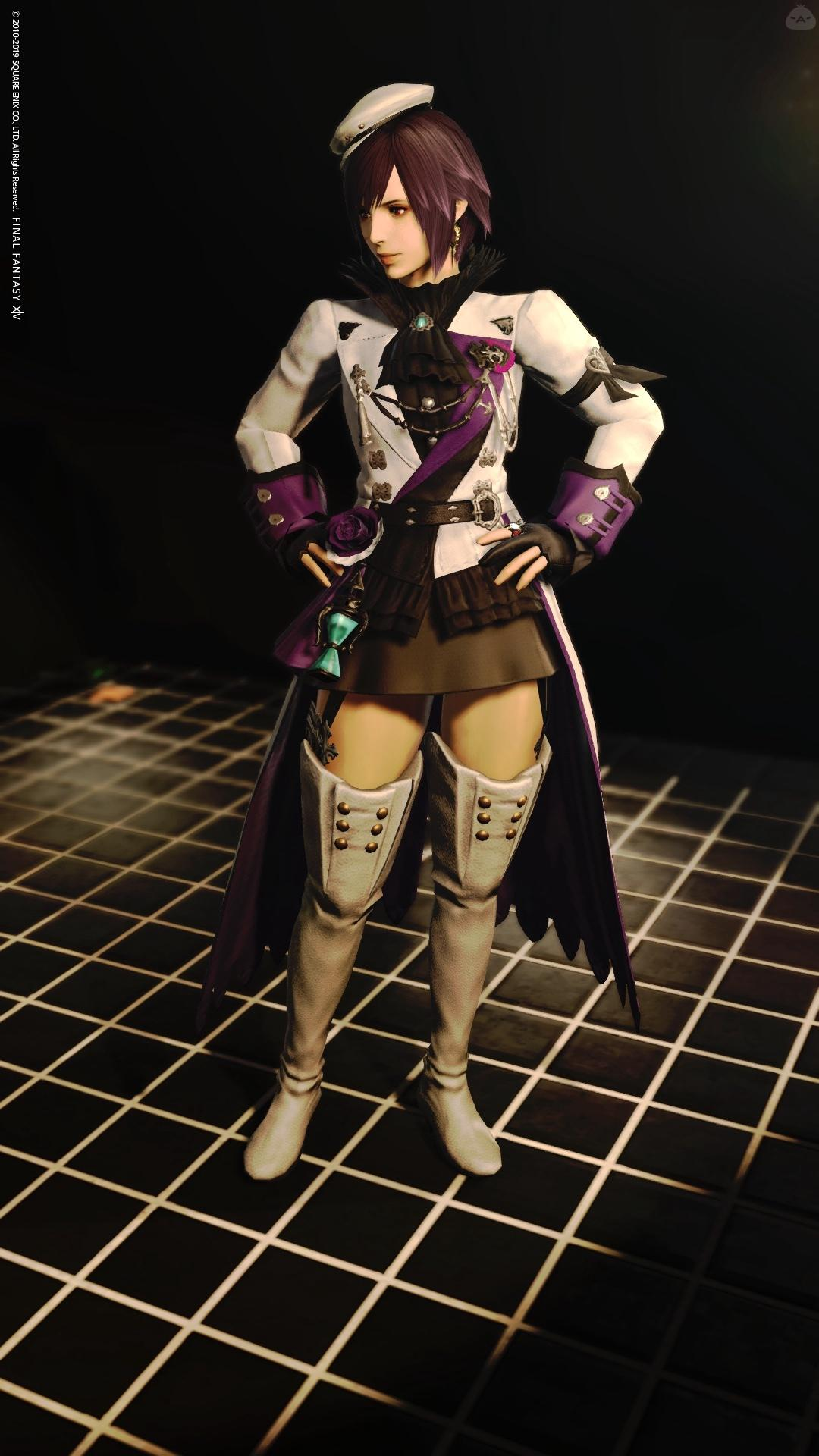 灰×黒×紫
