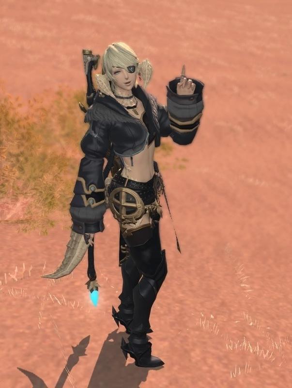 漆黒の銃剣士