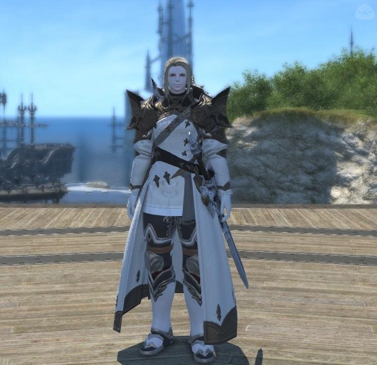 白騎士コーディネート