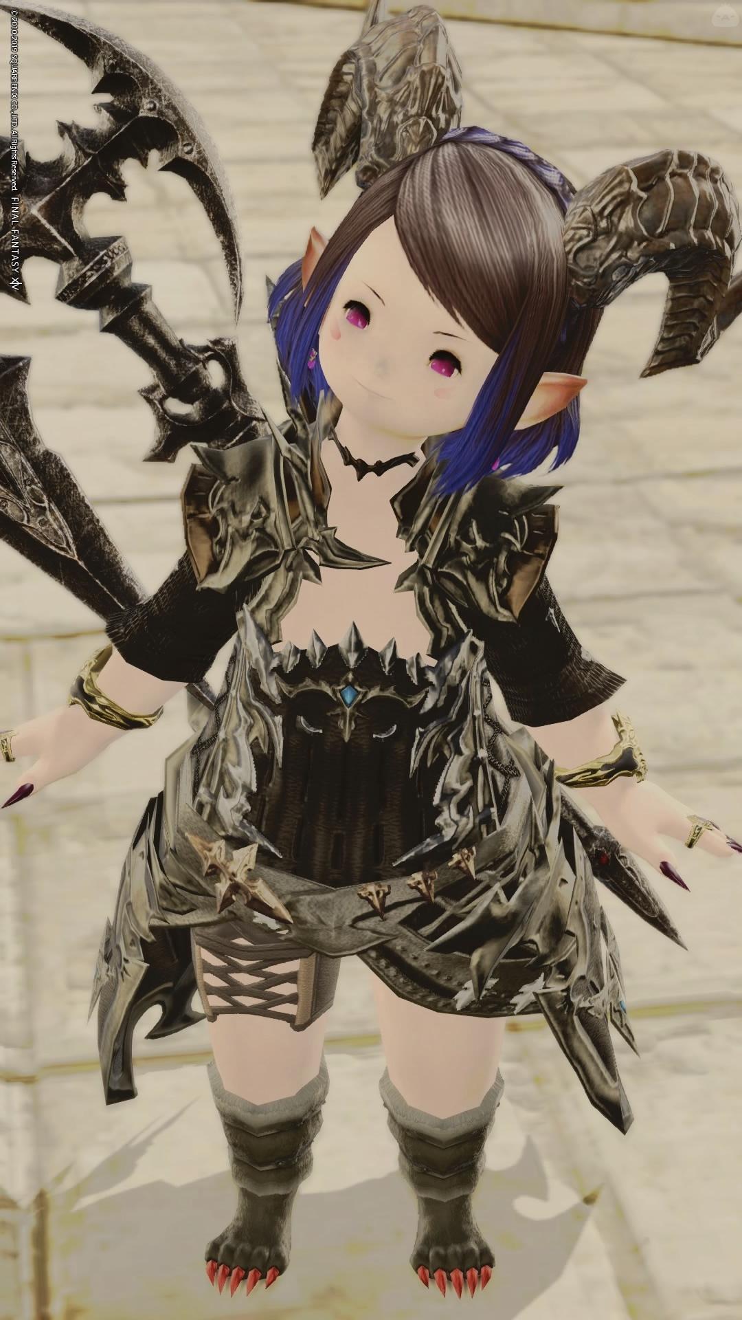 ブラックアーマードレス
