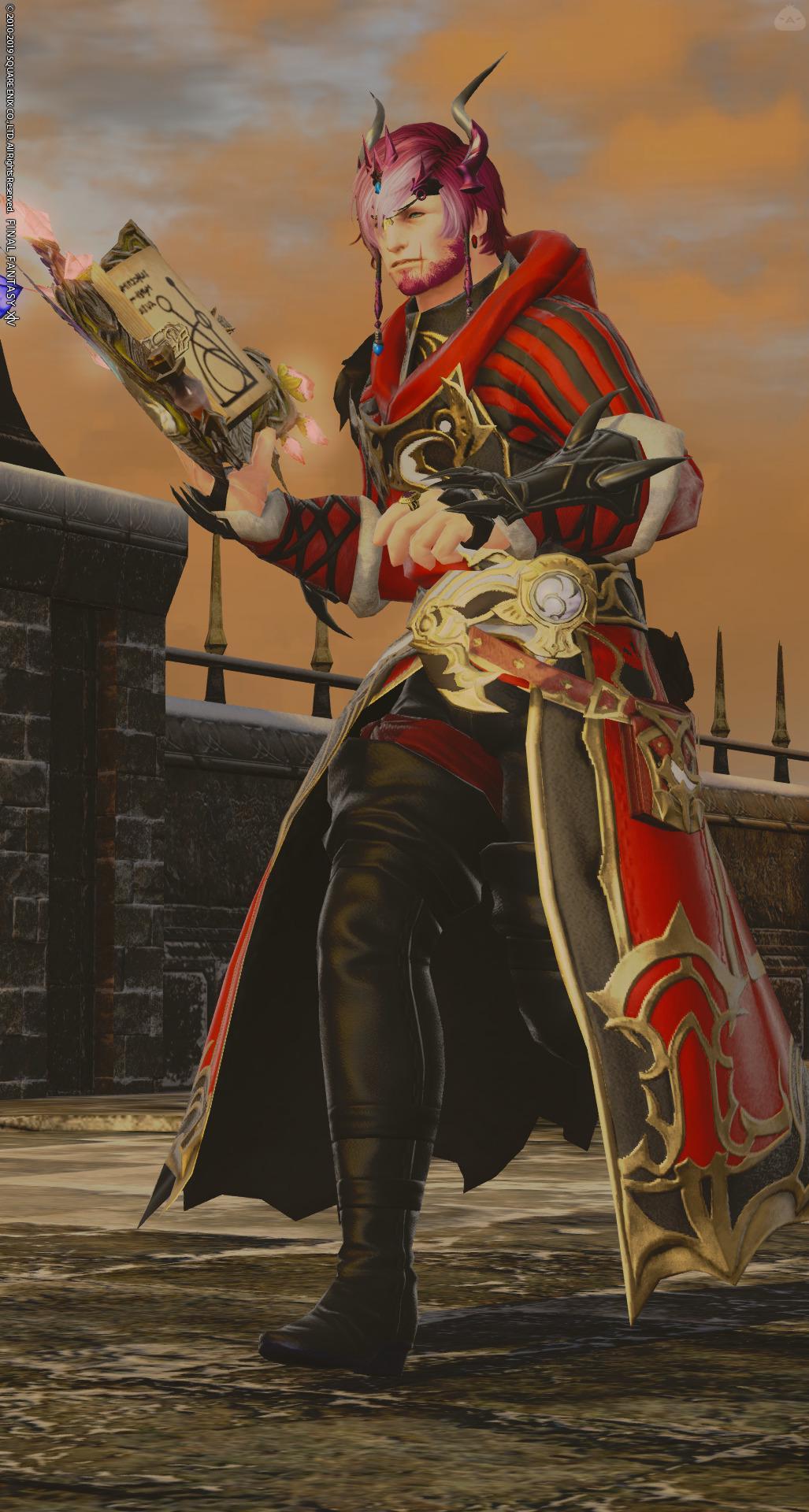 赤い召さん