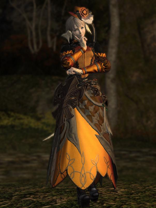 ハロウィン風ドレス