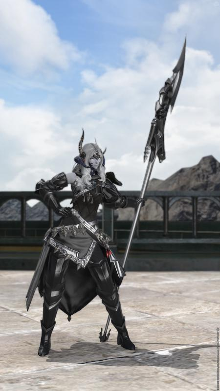 黒銀の竜騎士