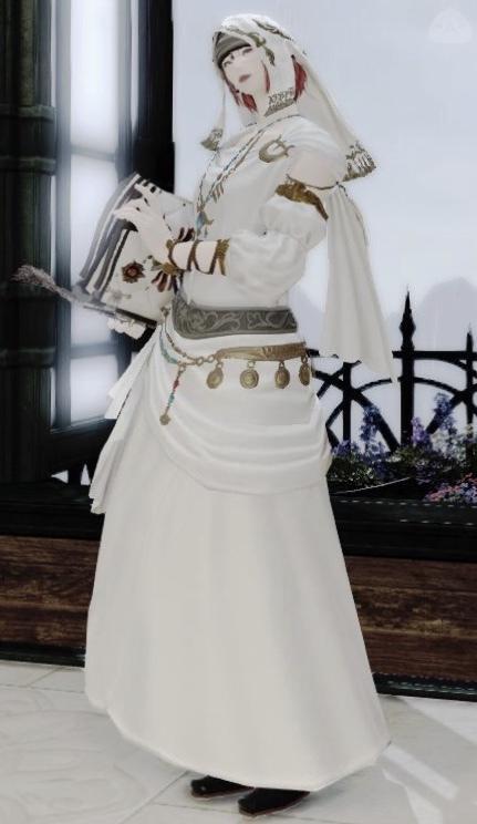 ヒーラー礼服(学者メイン)