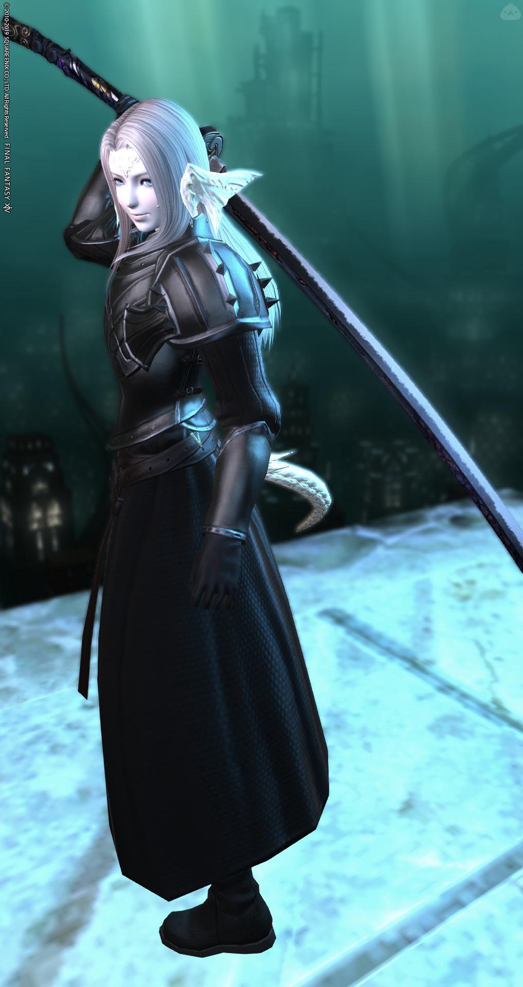 FF7 / セフィロス風(暗黒騎士)