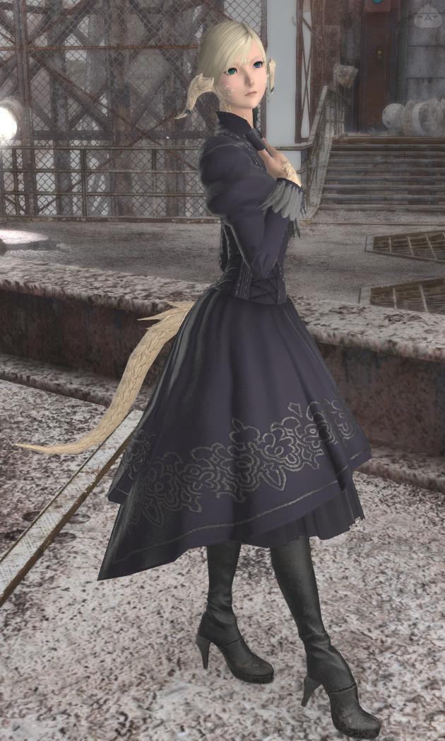 ヨルハ・タンク・ドレス
