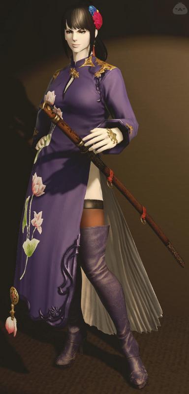 大陸風の女剣士