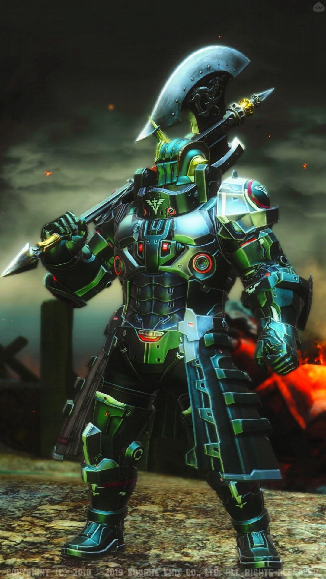 deepgreen mechanic warrior