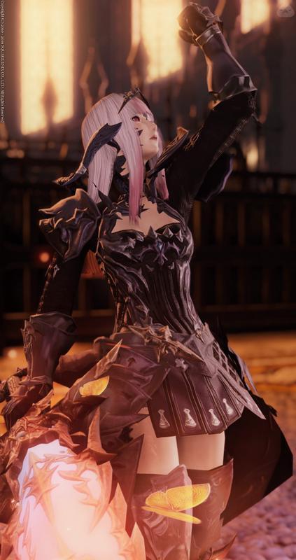 焔神の暗黒騎士