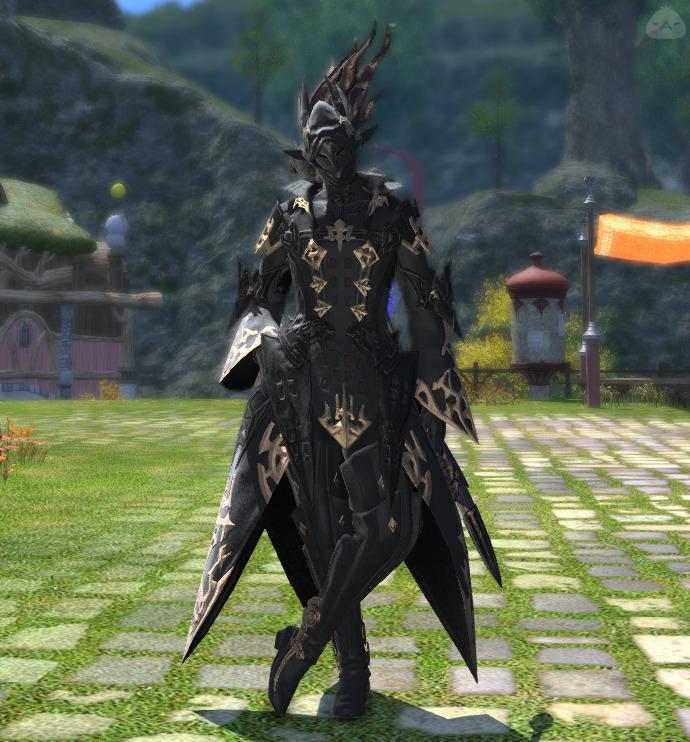 漆黒の魔道士