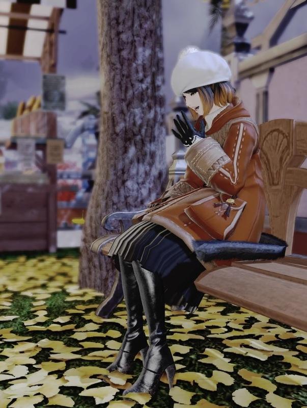 銀杏彩る季節にパン屋さんで待ち合わせ