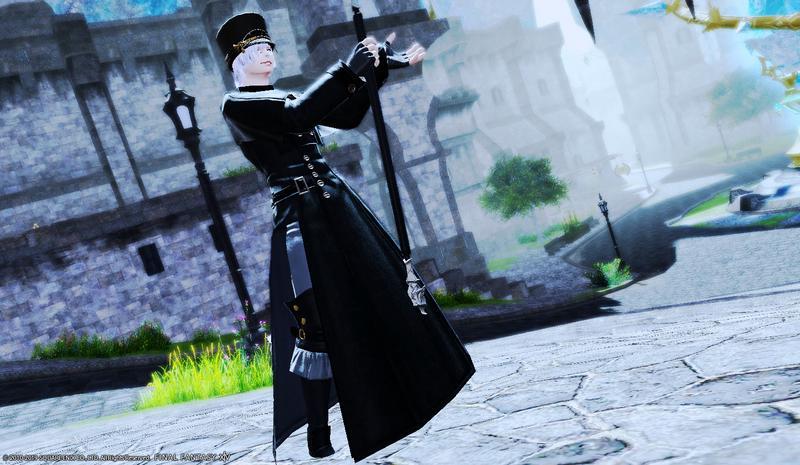 軍服の魔法使い