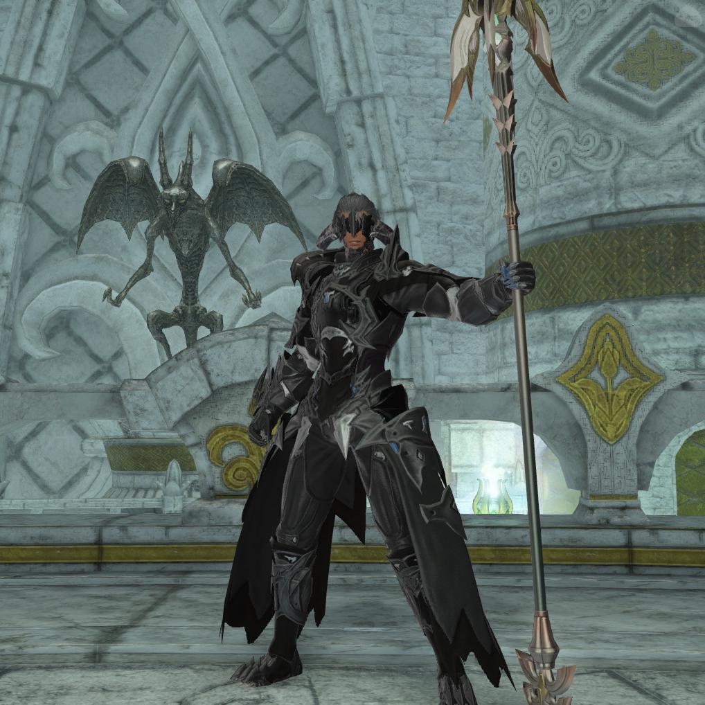 黒い竜騎士