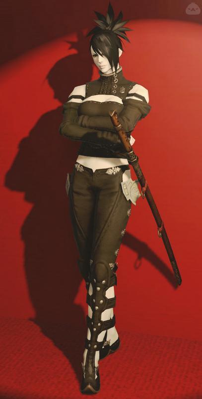 軽装の剣士