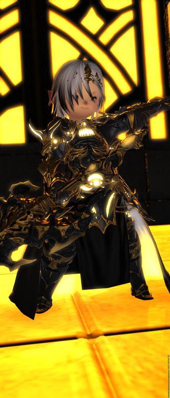 黒鎧の騎士