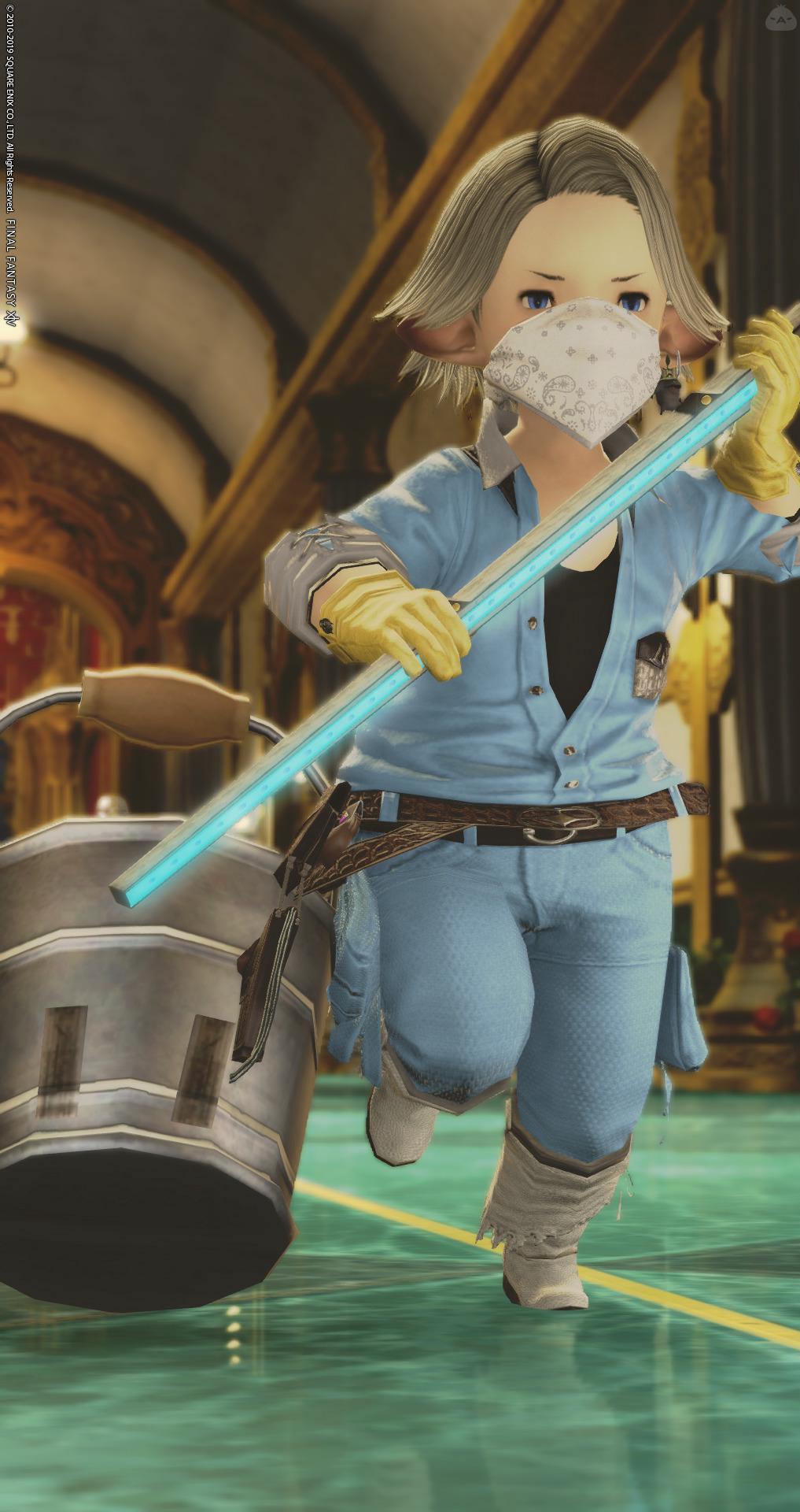 戦う清掃員