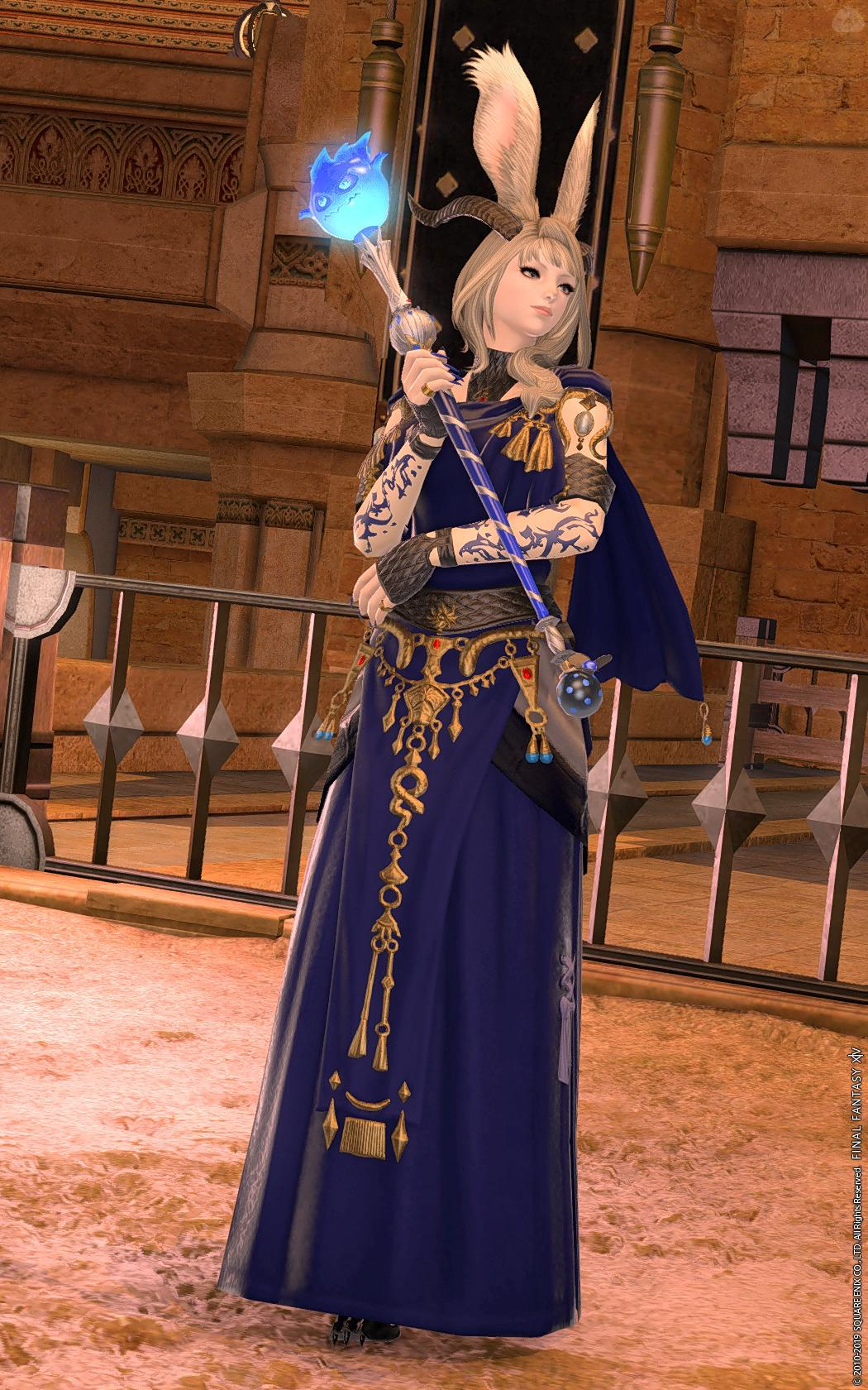 Dress Up Blue Mage