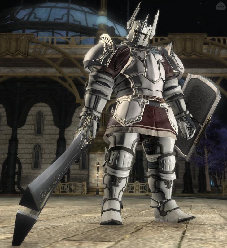 パワータイプの白騎士