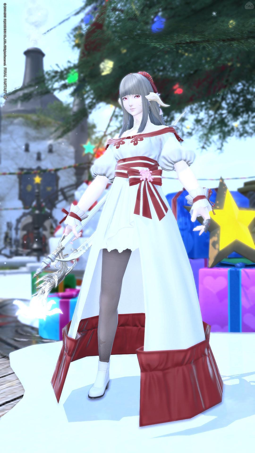 白魔道士ドレス