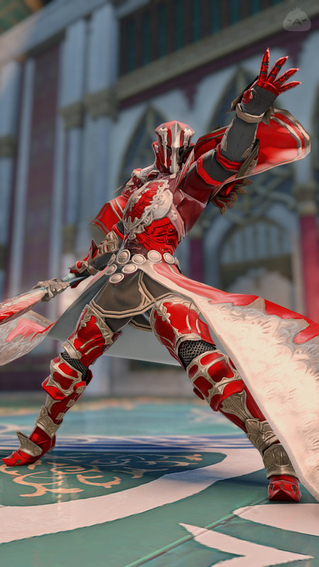 紅蓮の暗黒騎士