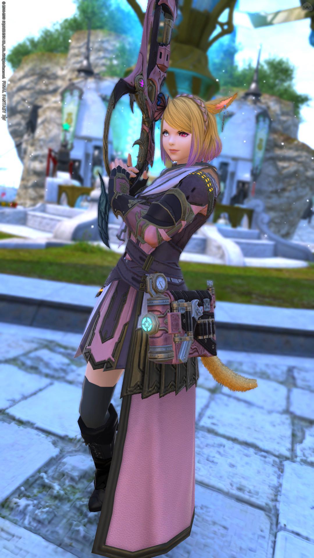 ピンク戦闘服