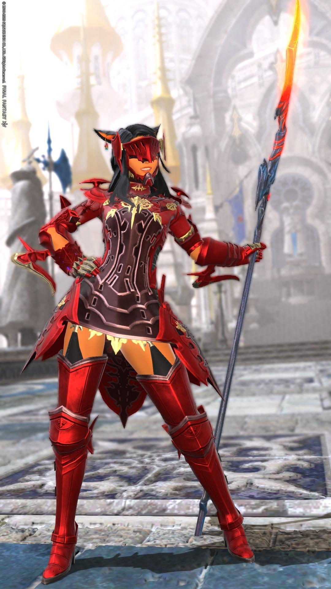 ミニワンピ紅の竜騎士