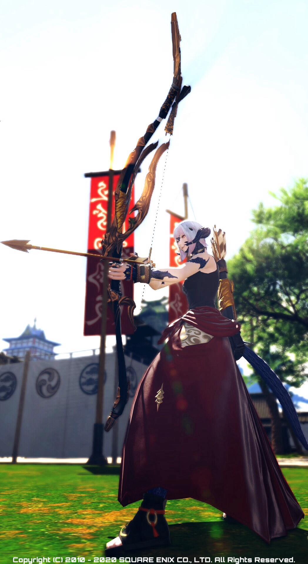 赤誠組の弓術士
