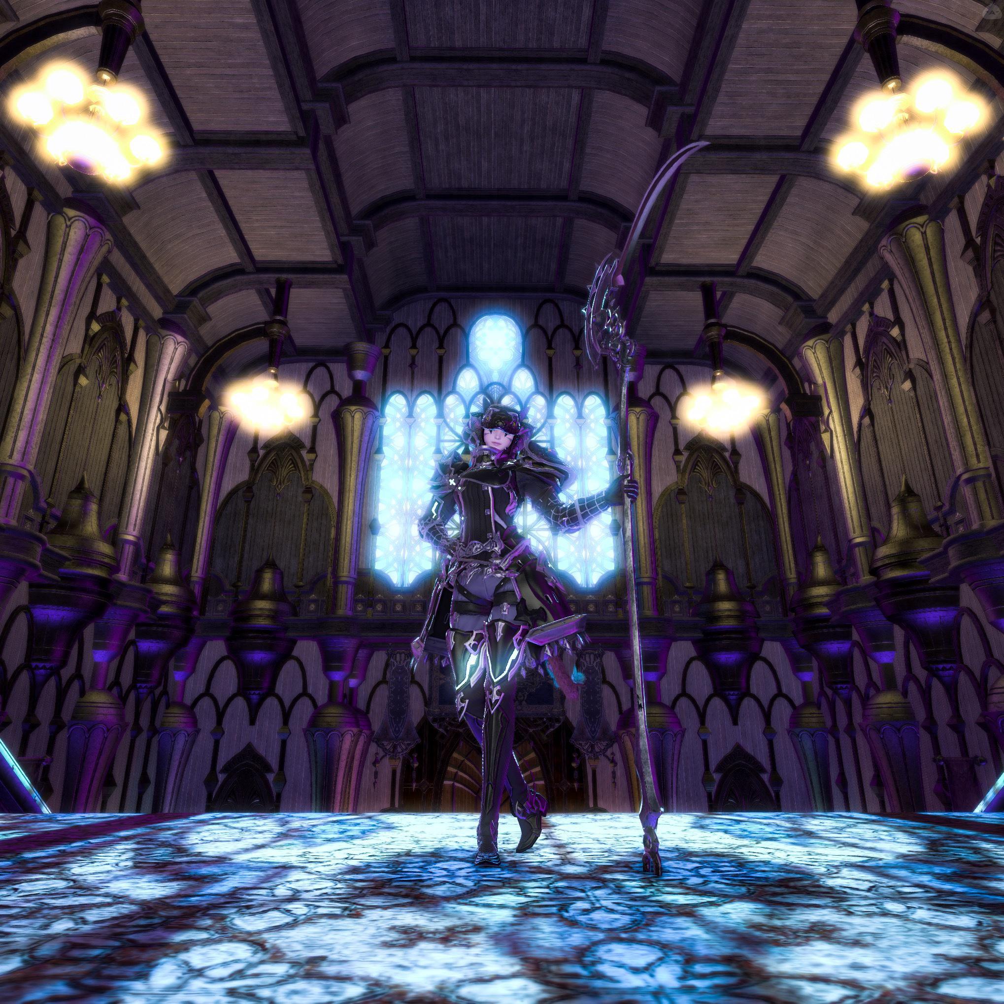 竜騎士『Dark scythe』