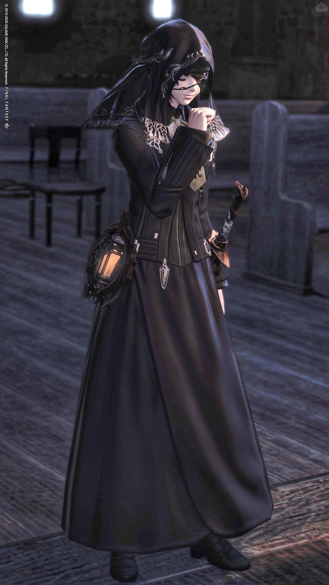 修道女スタイル