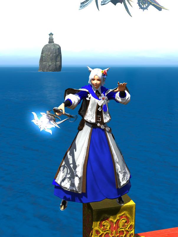 青の白魔導士