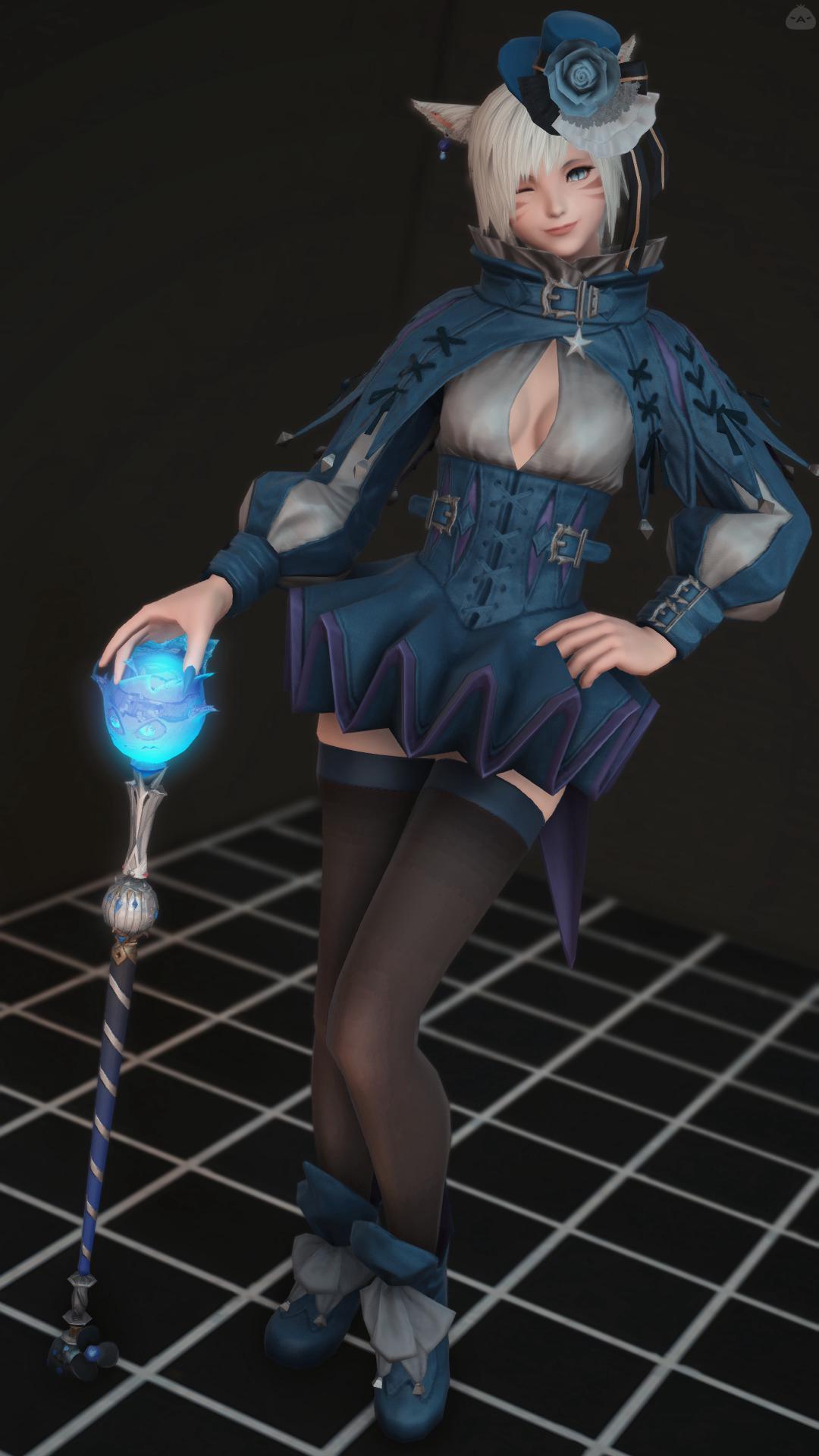 青の道化師