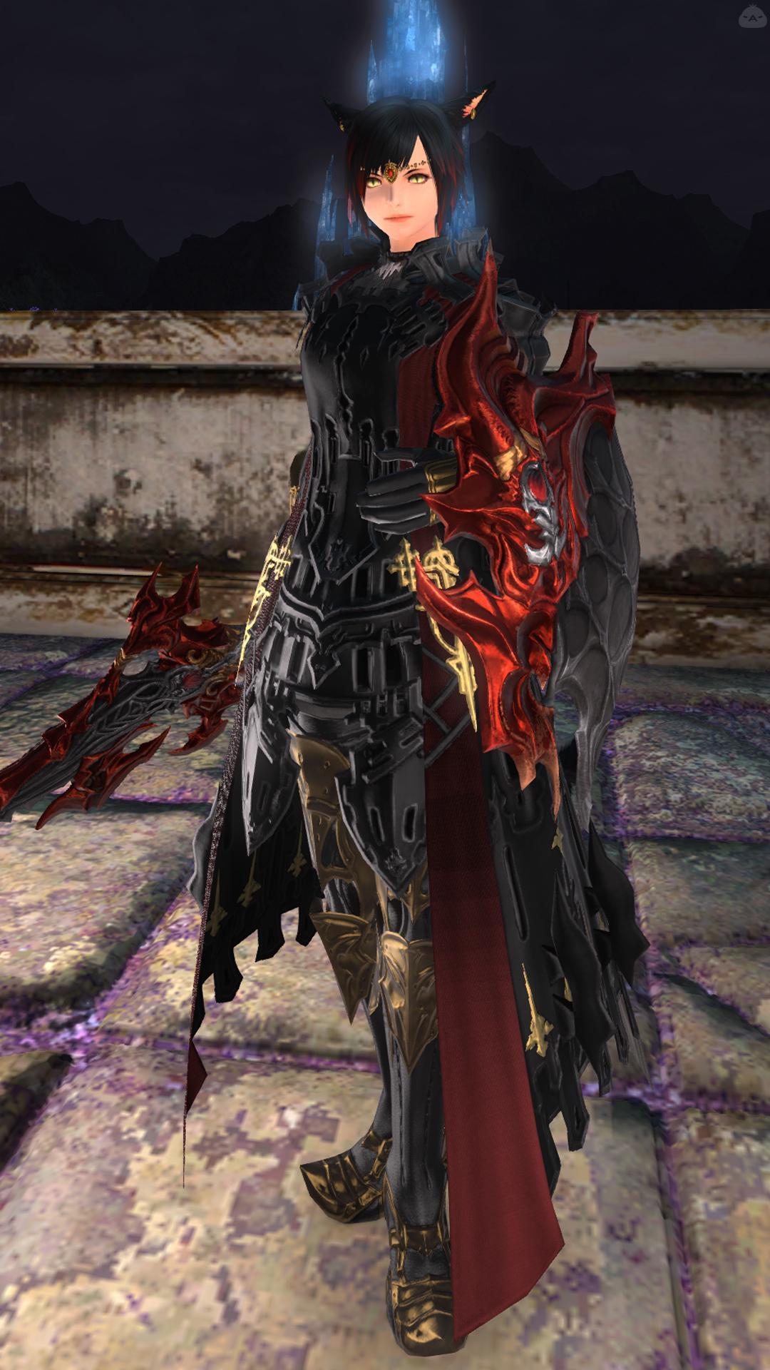 闇の赤騎士