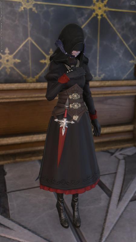 影のある修道女