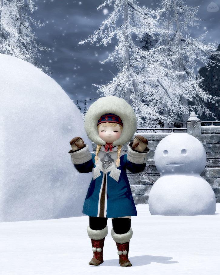 雪国の少女