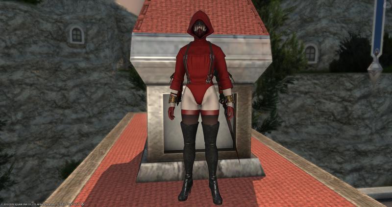 赤魔の正装