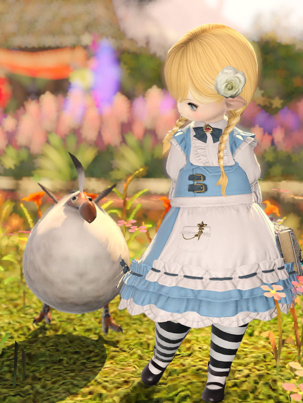 Alice in Wonderland for Eorzea