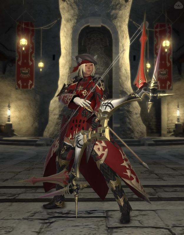 黒渦団の弓術士