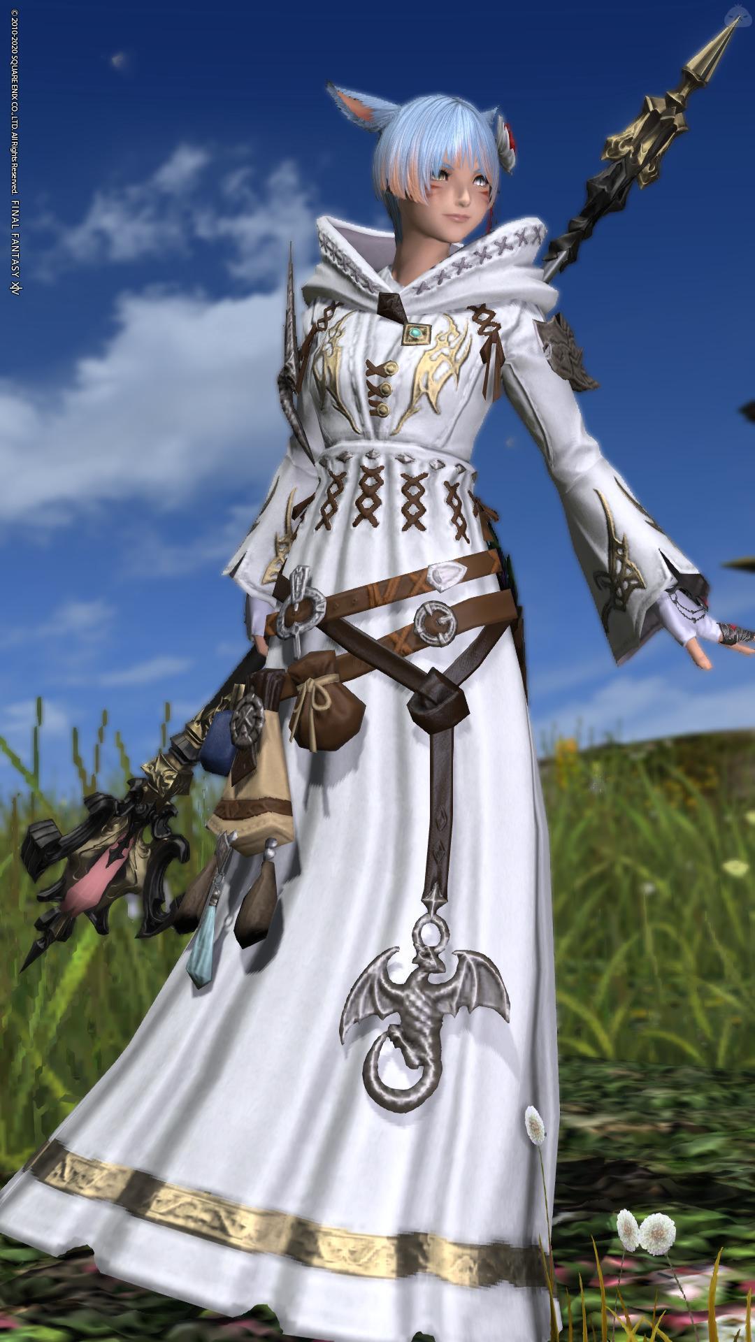 天空の白魔道士