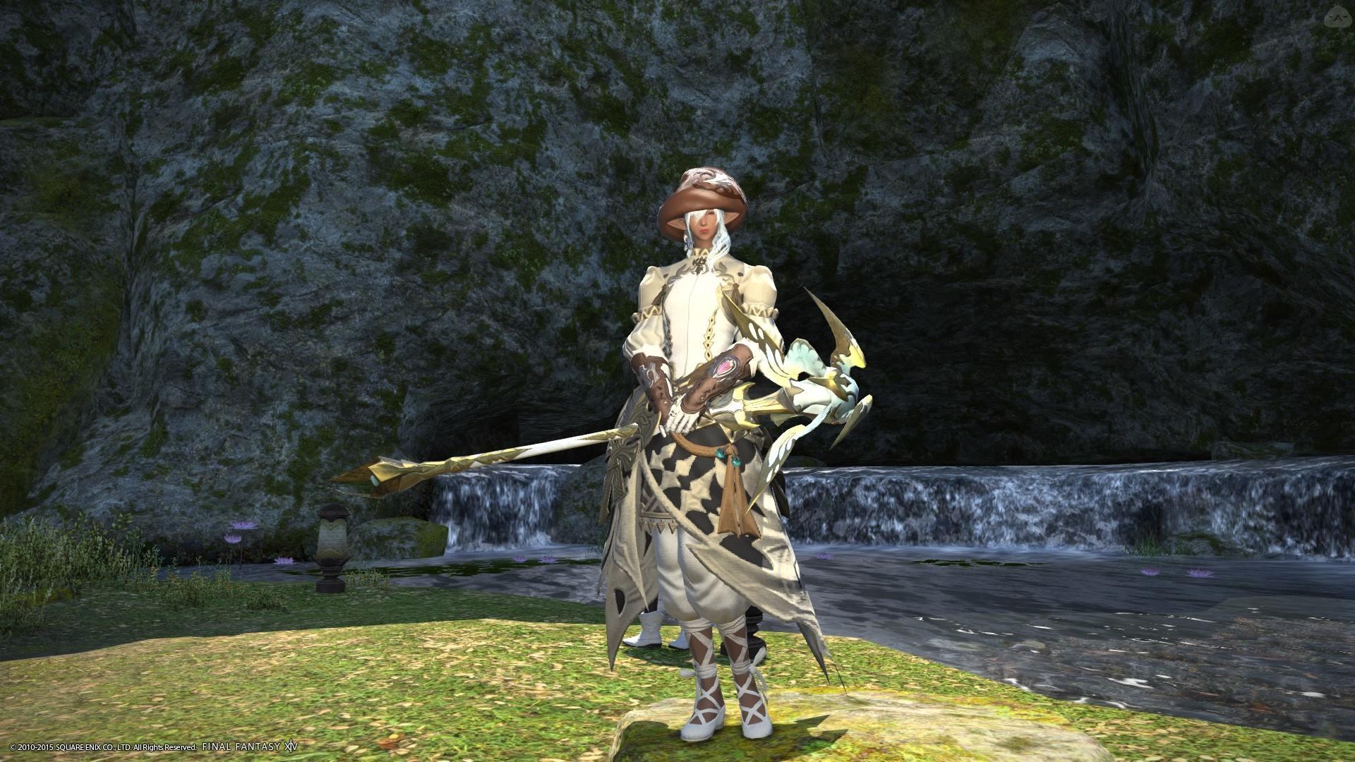 秋色の白魔道士