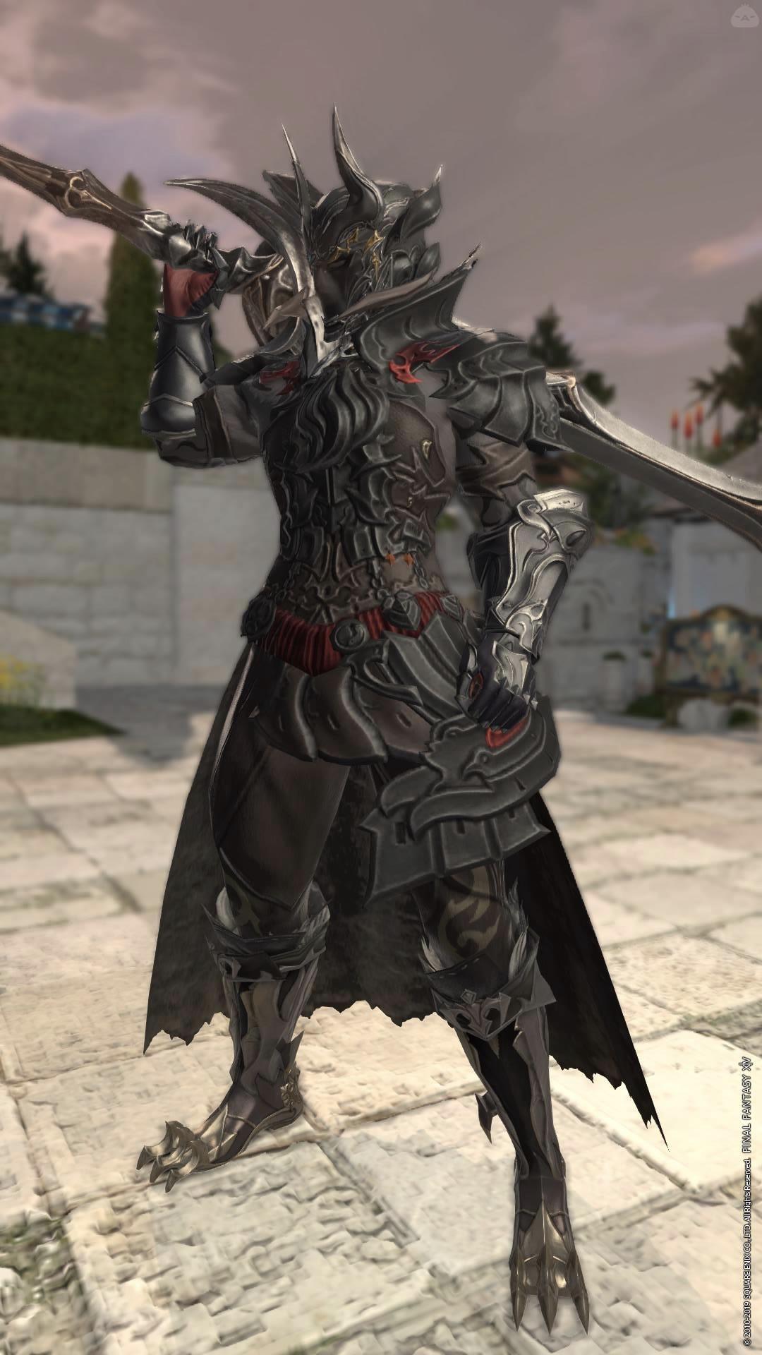 敵から味方になるタイプの暗黒騎士
