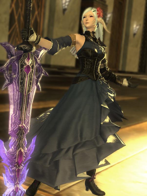 大剣を使うタイプの姫騎士