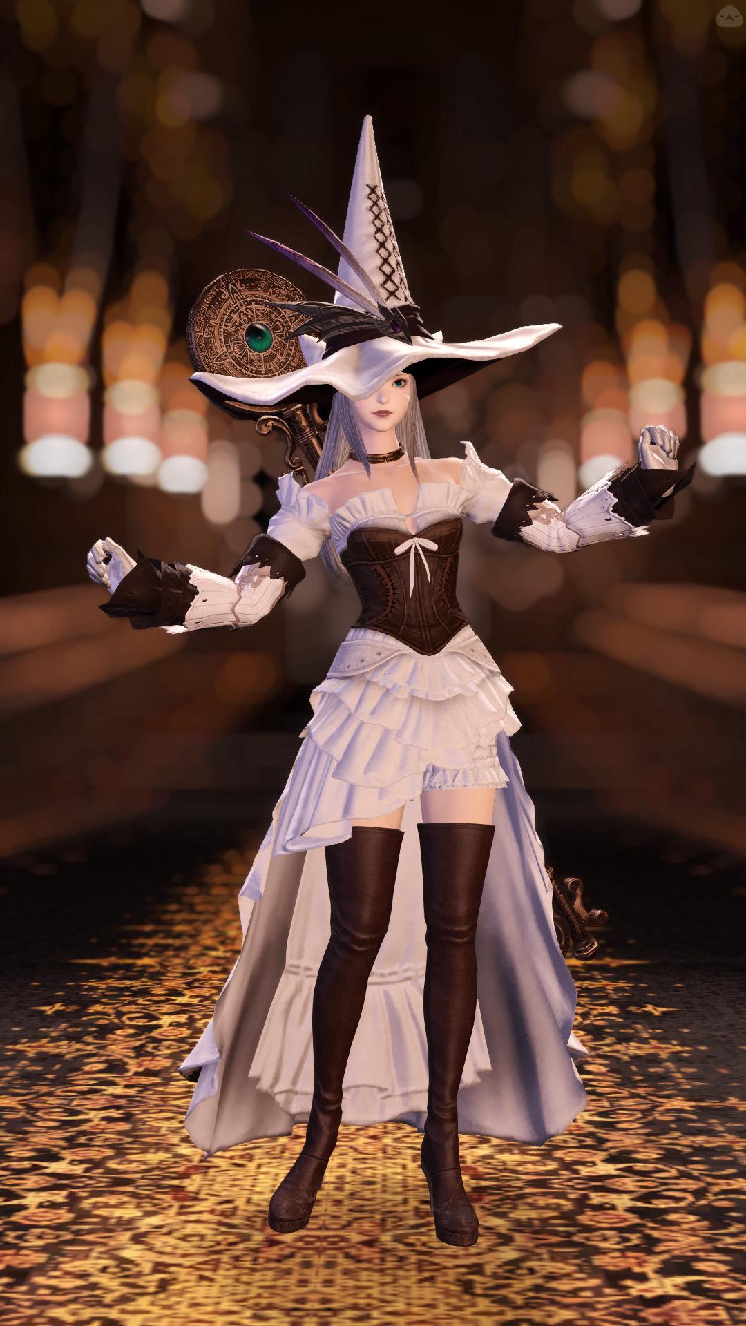 純白の魔女