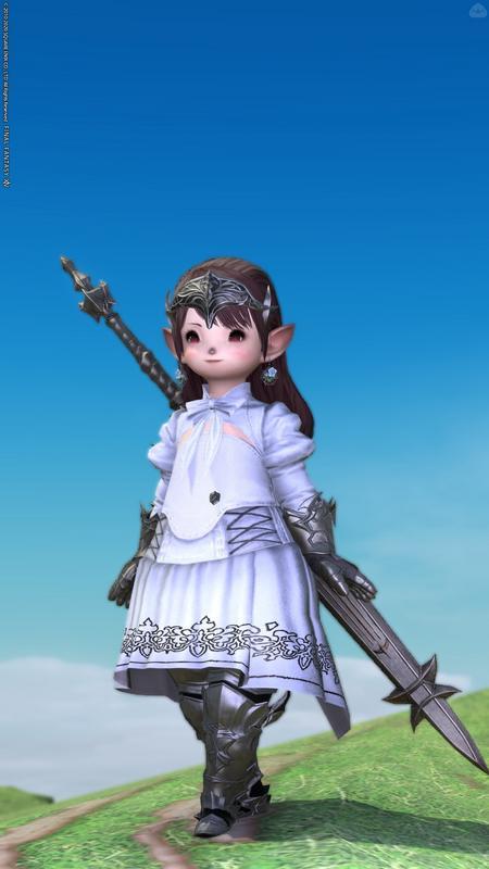 純白の姫騎士