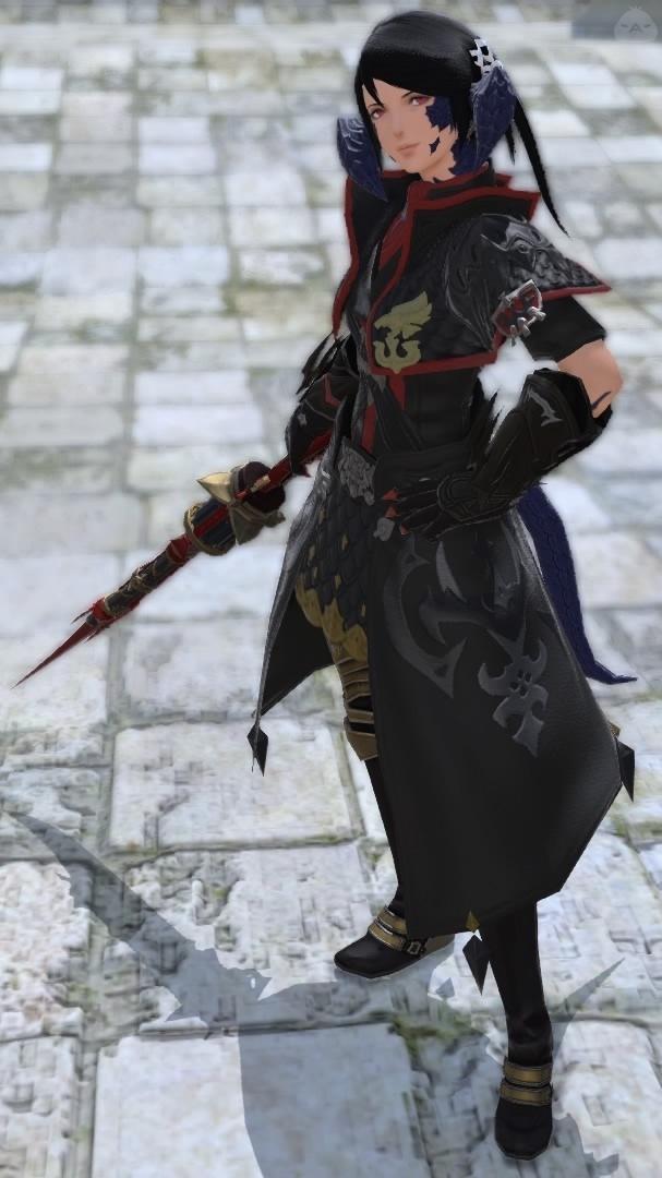 黒渦団の銃剣士