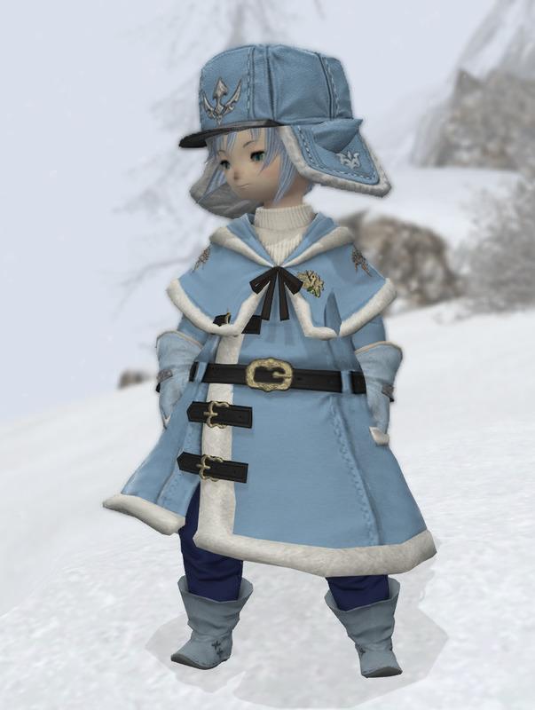雪戦士風コスプレ