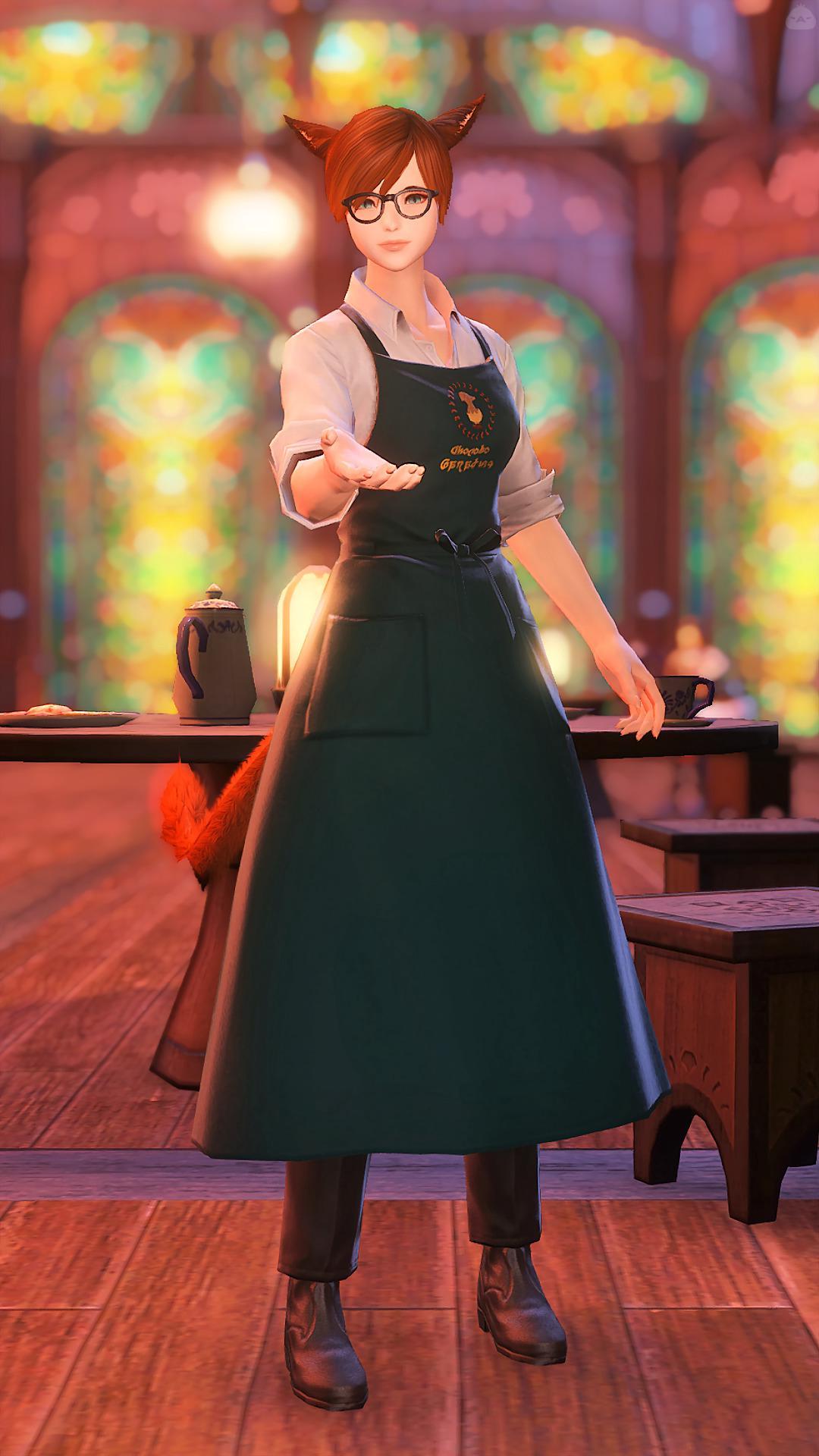 某コーヒーショップの店員さん